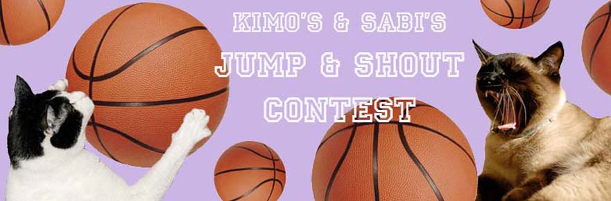Cat Banter's Jump & Shout Contest