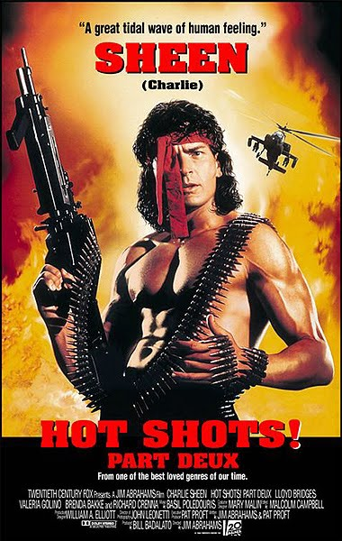Hot Shots! Part Deux is full of ridiculousiosity (is there such a word