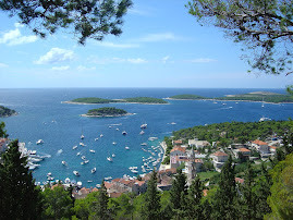 Pakleni Otoci from Hvar town