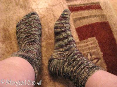 Mina färdiga Monkey-sockor.(1)