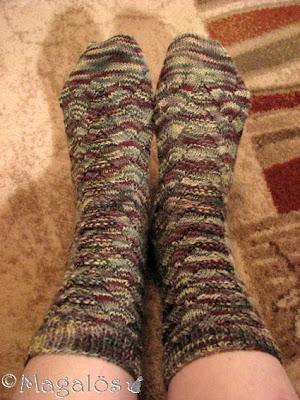 Mina färdiga Monkey-sockor.(2)
