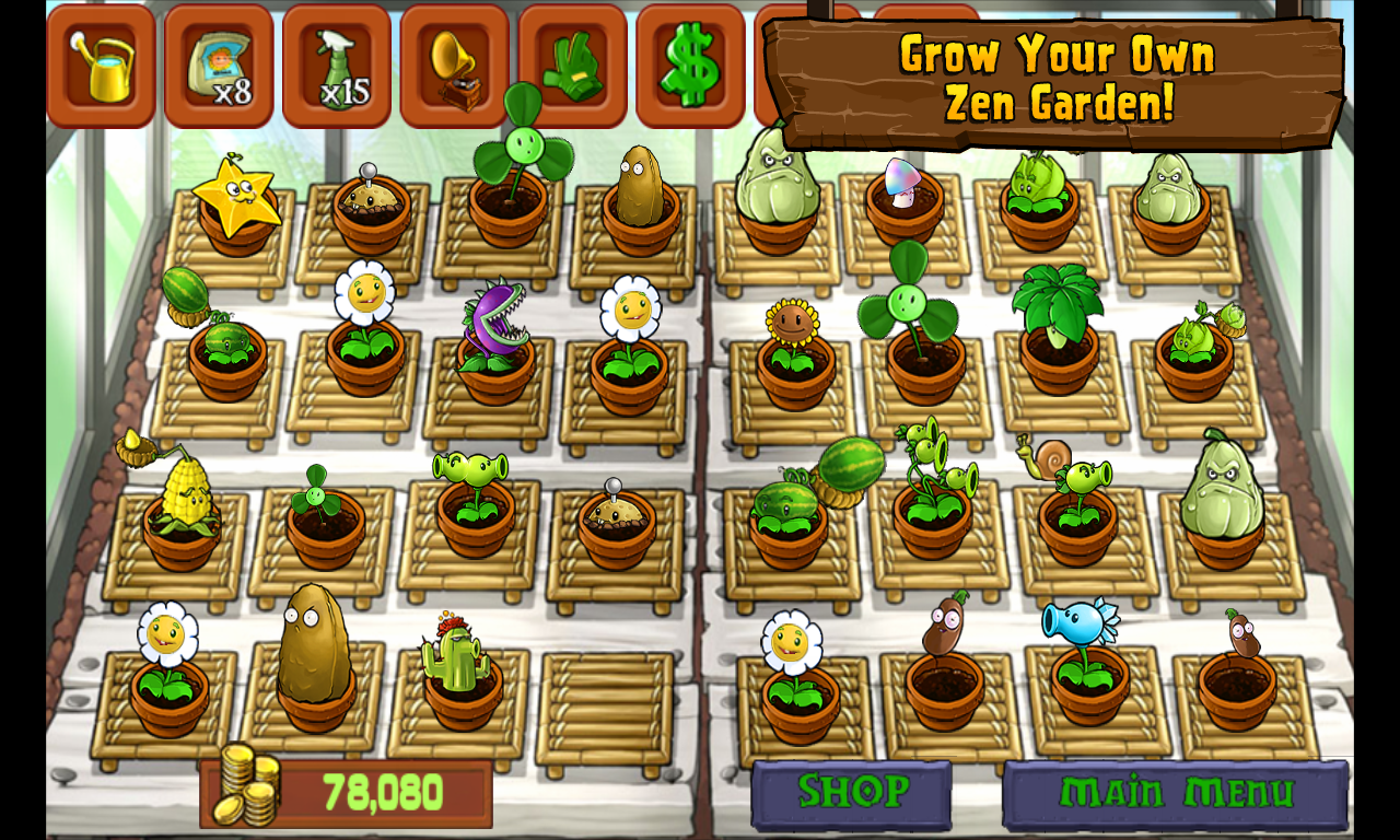 Choco Share: [Android] Plants vs. Zombies™ APK Full Version