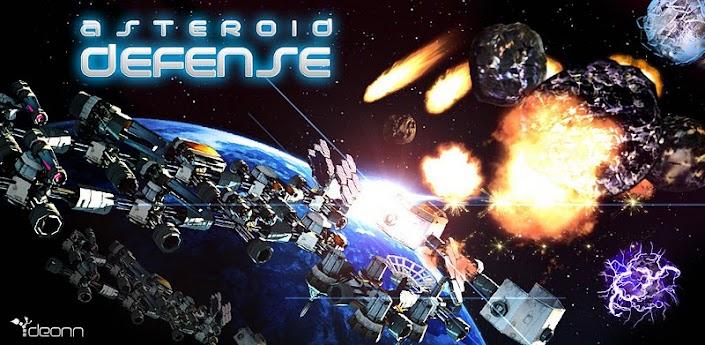 Os jogos mais viciantes para android  - asteroid defense