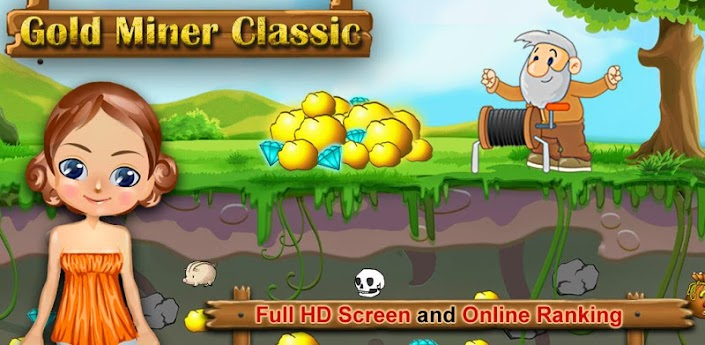 Gold Miner Classic HD V12 Frenzy ANDROID Games And Apps