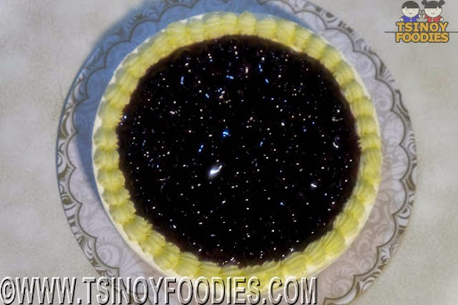 blueberry no bake cheesecake