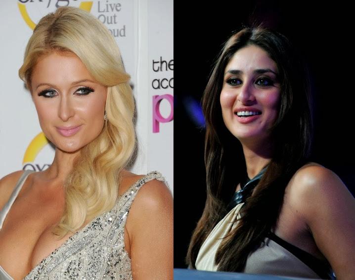 Paris Hilton and Kareen Kapoor Khan