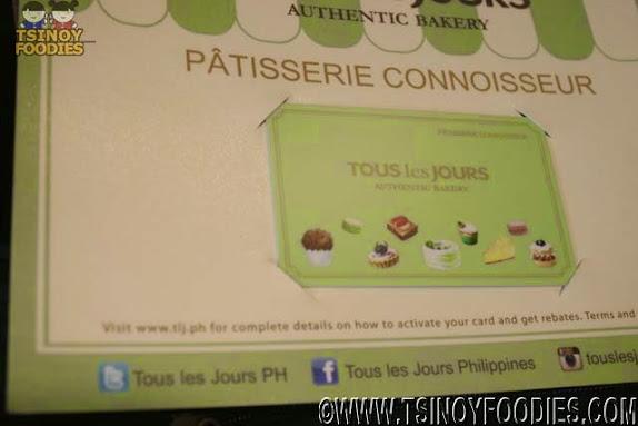 tous Les Jours Patisserie Connoisseur Card