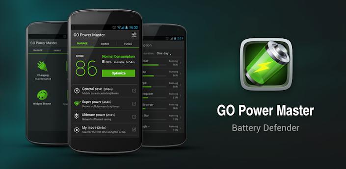 GO Battery Saver &Power Widget Premium v4.1.4