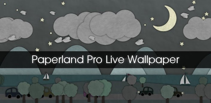 Paperland Pro Live Wallpaper v1.2 apk