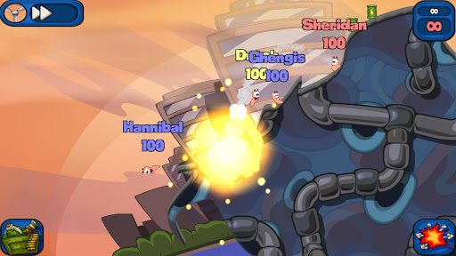 Worms 2: Armageddon apk