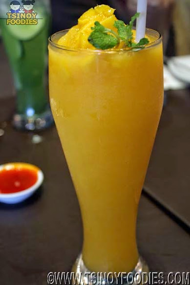 mango mint smoothie