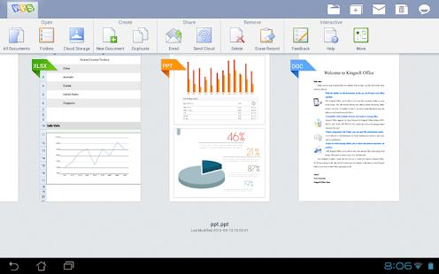 Kingsoft Office Apk v5.6.1