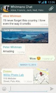 تطبيق WhatsApp Messenger v2.11.12 العملاق في عالم الدردشة في اصداره الجديد