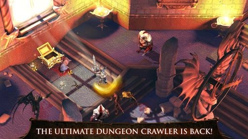 Dungeon Hunter 4 1.0.1 (Unlimited Gold & Gems & Skills)