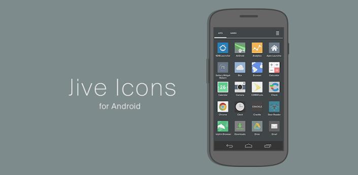 Jive Icons (Apex, Nova, ADW) v2.1.6 Apk Zippy