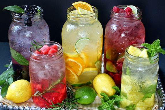 Infused water with fruit and herbs recipes : Wiki Health Blog