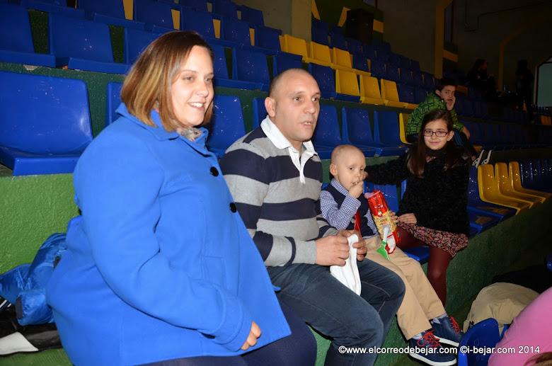 Familia de Diego, durante la celebración de la Gala