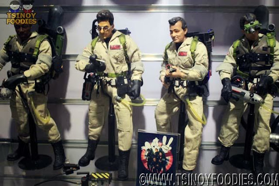 ghost busters toy collection