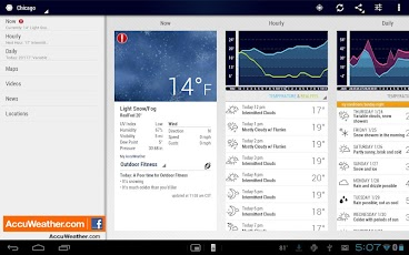 AccuWeather Aplikasi Android Gratis