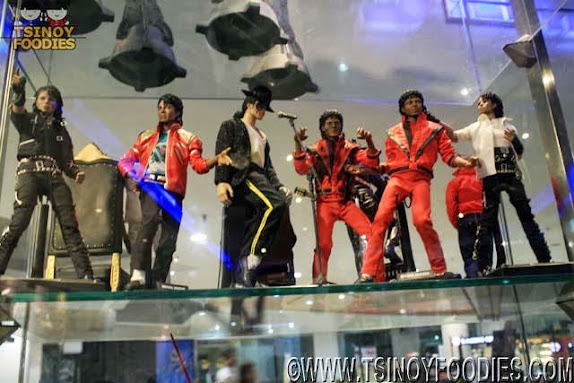 michael jackson toy collection