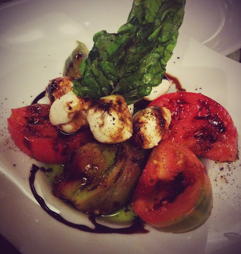 Envy Steakhouse Heirloom Tomato Caprese