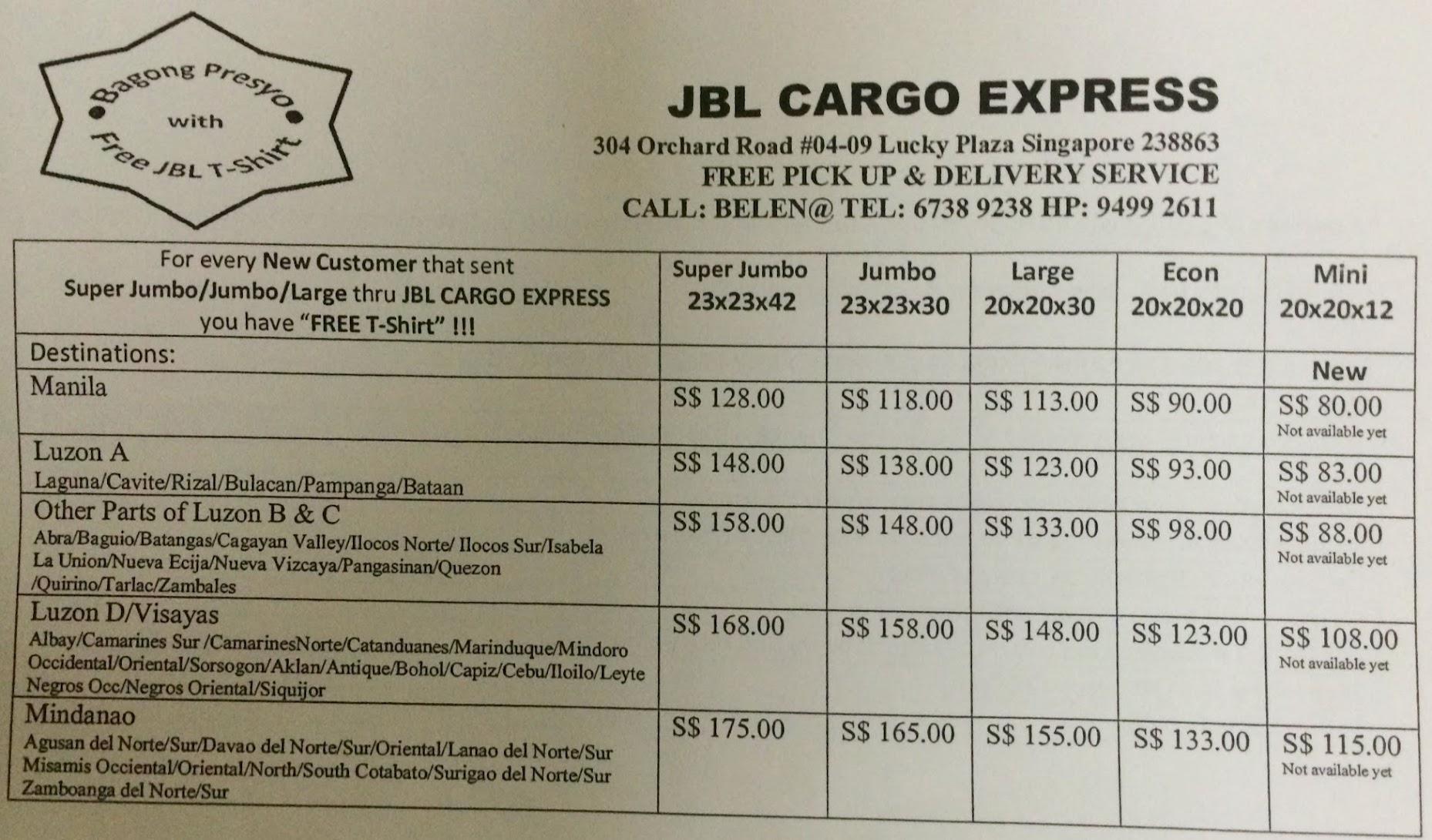 jbl cargo express
