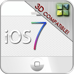 iOS7 iPhone 3D Next Theme - v1.0 APK