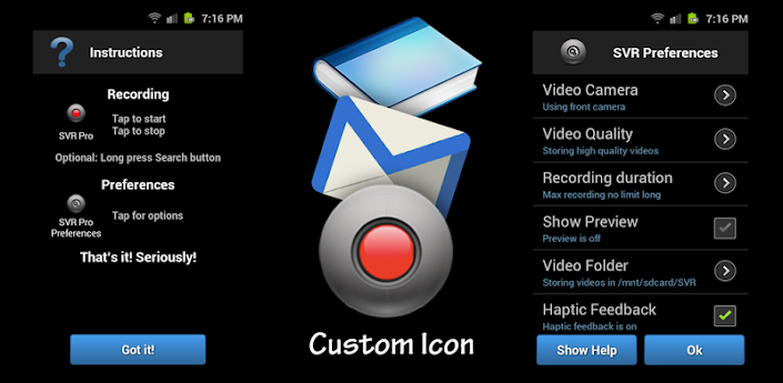 Free Secret Video Recorder Pro Android crack full version