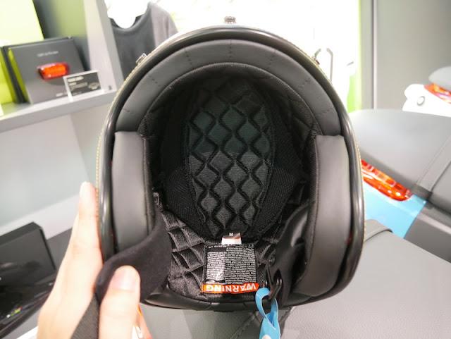 COOLMAX內襯可排除頭部產生的濕氣及熱氣,內襯採用菱 ...