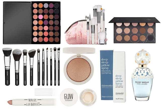 Zoeva, Morphe Brushes, Topshop Beauty Wishlist