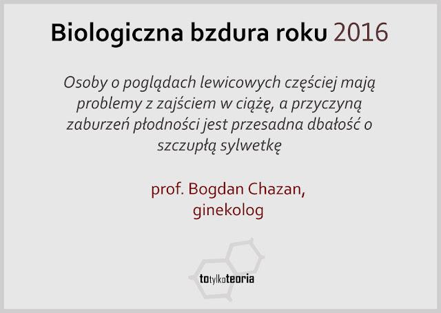 profesor Chazan bzdura