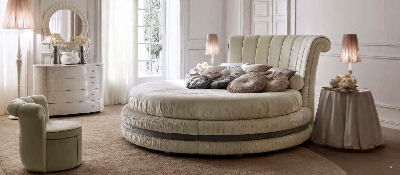 Design interior mobila dormitor de lux Italia - Design Interior | Amenajari interioare - Bucuresti | Mobila Italia - mobila dormitor italiana pat Luxury