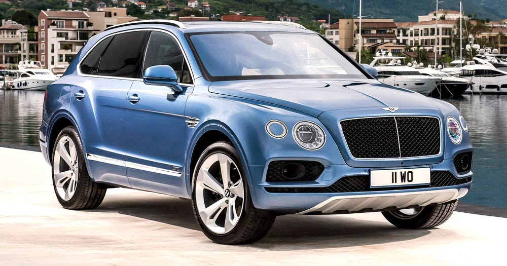 new bentley bentayga diesel is britain s posh audi sq7 and it costs twice as much. Black Bedroom Furniture Sets. Home Design Ideas