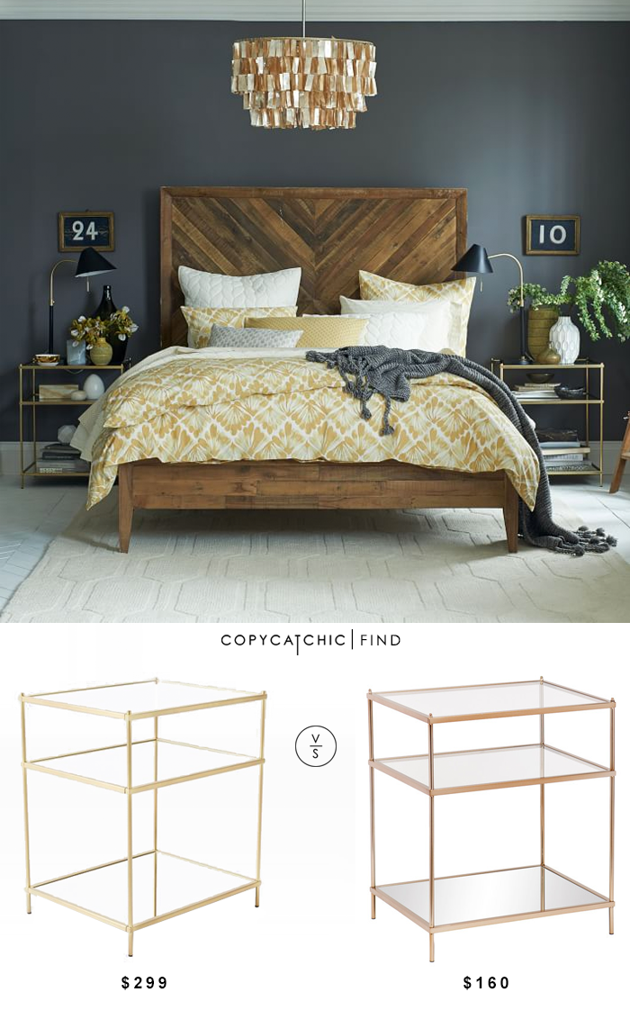 office chair vs stool director covers big w copy cat chic: west elm terrace nightstand