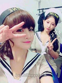 Foto Jeon Boram T-ara dengan Soyeon T-ara