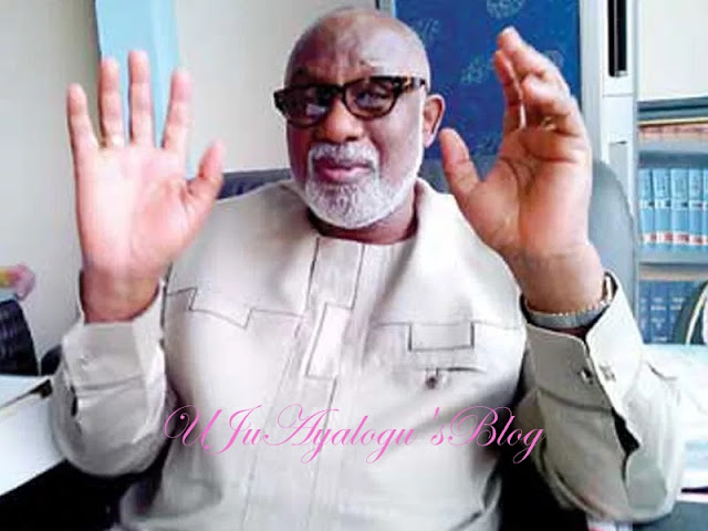 Akeredolu wants Ondo workers to sacrifice salary arrears as contribution towards development