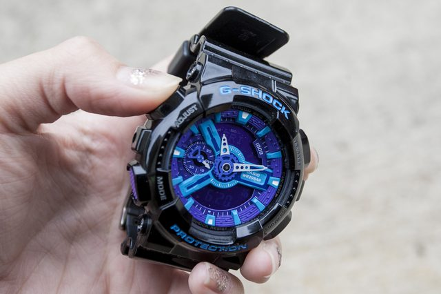 Jedinou výnimkou sú hodinky s technológiou