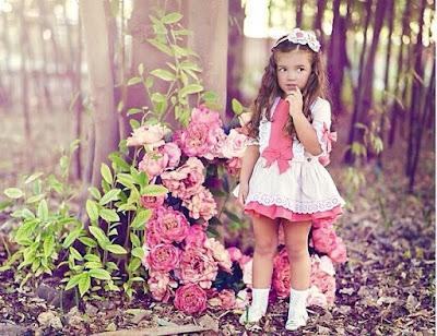 vestido de niña de dolce petit moda infantil nueva coleccion
