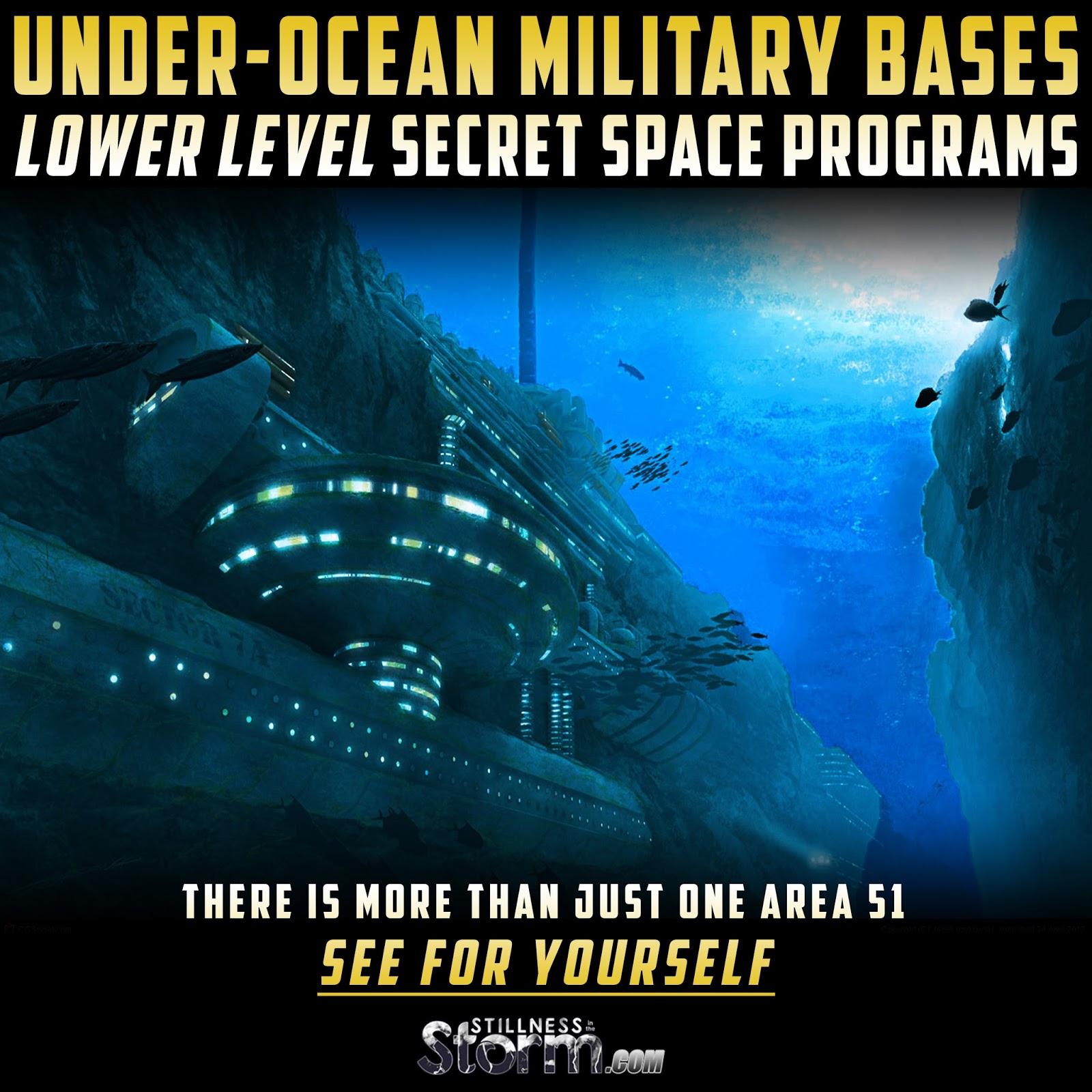 Under-Ocean Military Bases - Lower Level Secret Space ...