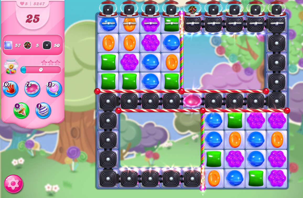 Candy Crush Saga level 5247