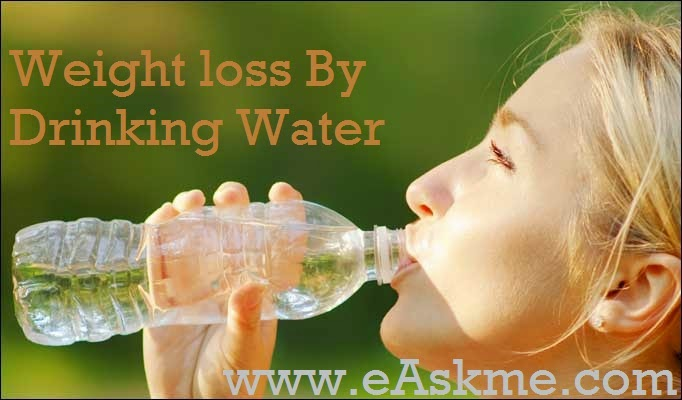 Weight loss By Drinking Water : wikihealthblog