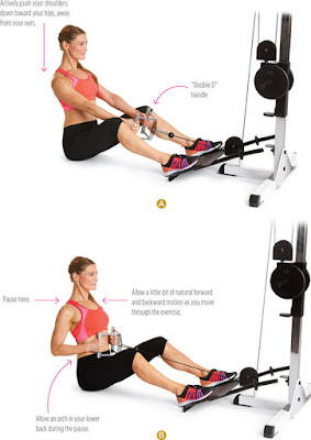 women's health - SEATED CABLE ROW