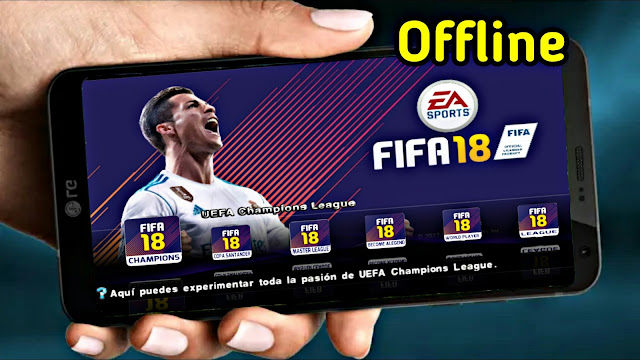 Download FIFA 18 MOD PES 18 Android Offline Best Graphics