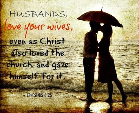 Husband and Wife Bible Verse
