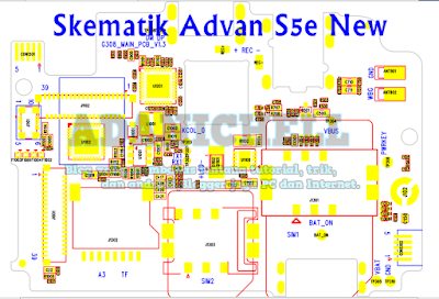Skematik Advan S5e New