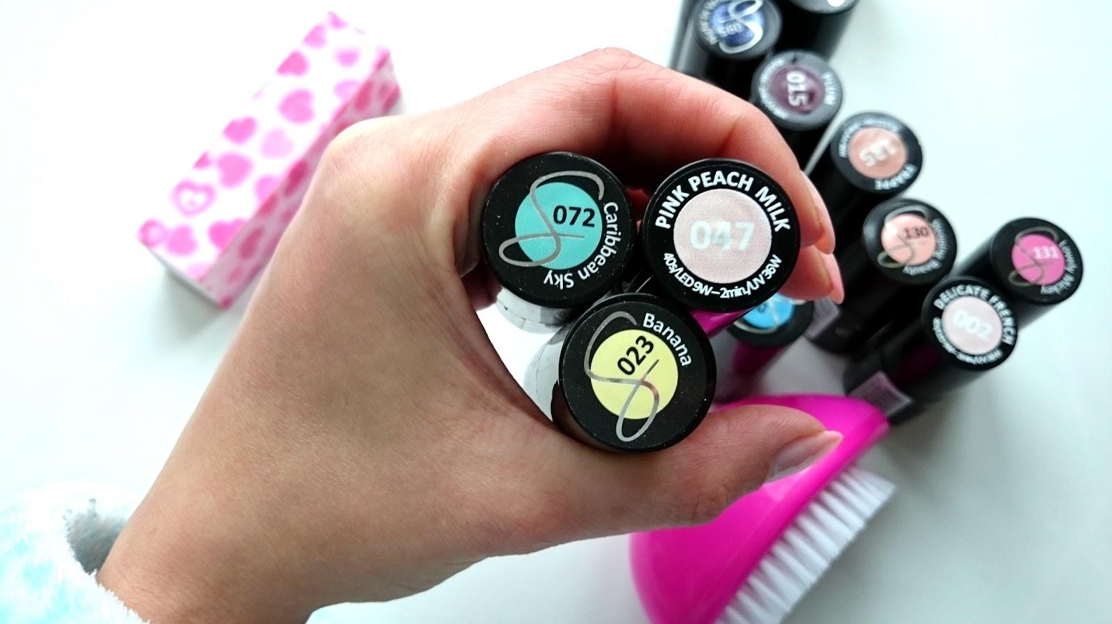 Kolorowe pastele czyli hybrydowy manicure na lato