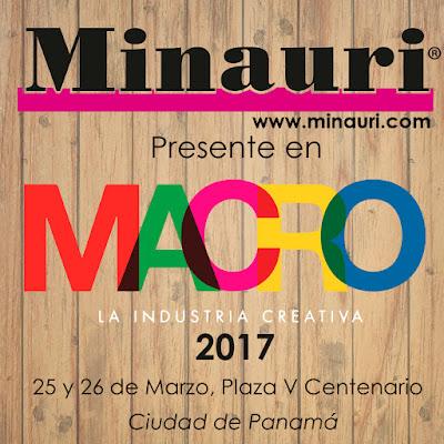 Minauri - Revistas con Patrones - Pattern Fashion Magazine - Macrofest - Panamá - Ferias y Eventos de Arte y Creatividad - Macrotalks - Macromarket