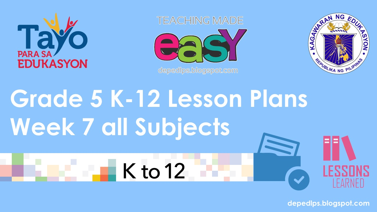 deped lesson plan