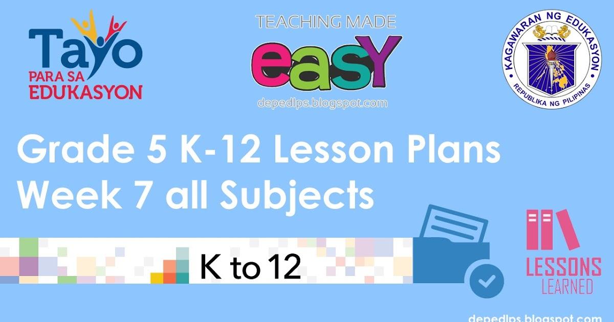 mapeh lesson plan