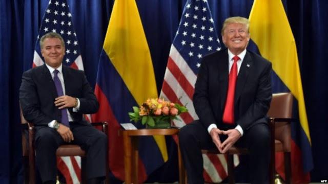 Trump y Duque se reunirán próximamente para abordar crisis en Venezuela.